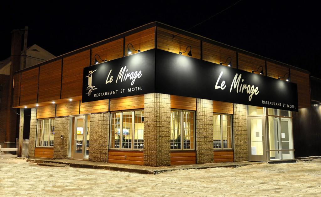 Motel Le Mirage, in La Malbaie, Charlevoix