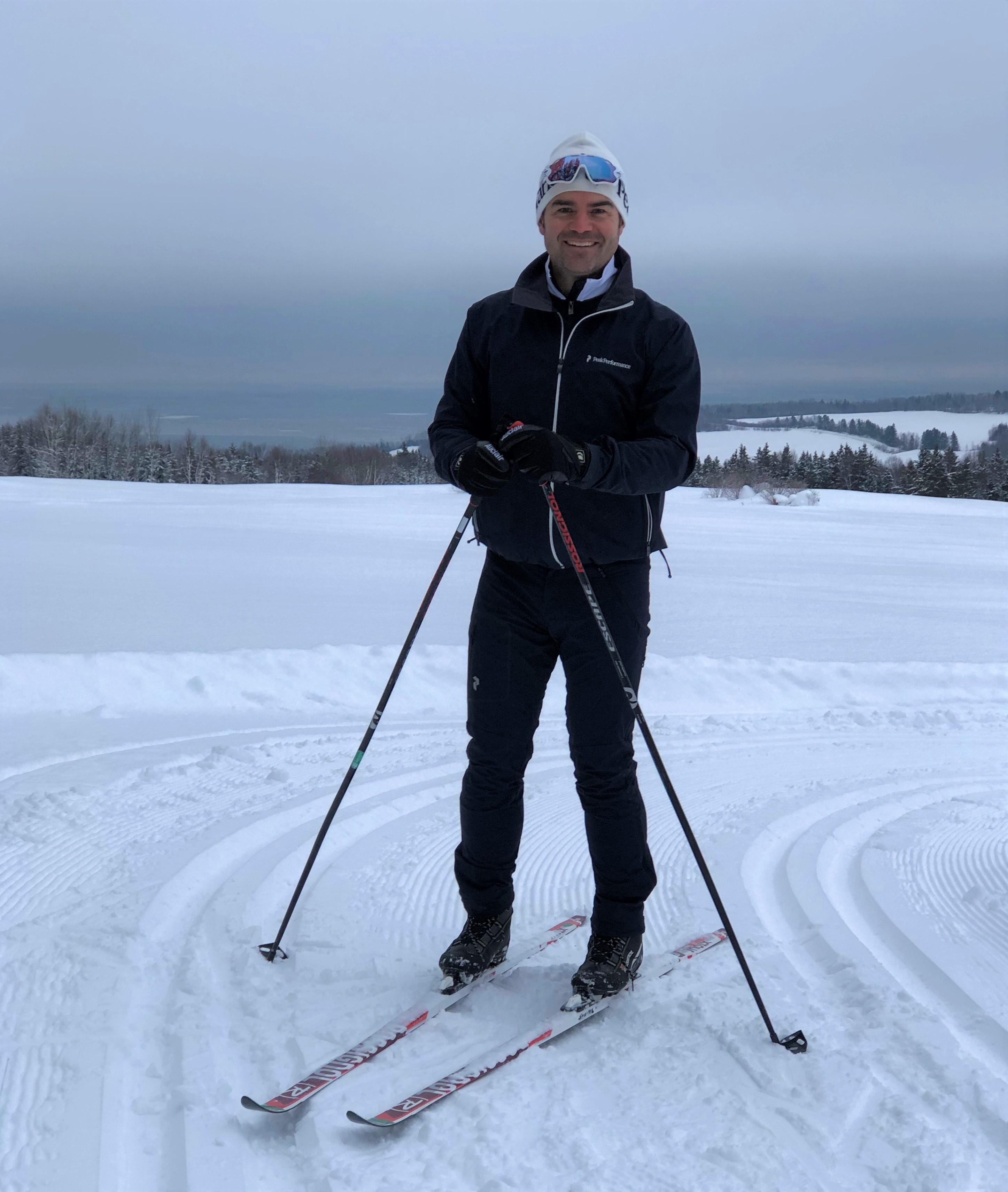 Ski de fond - D. Melançon