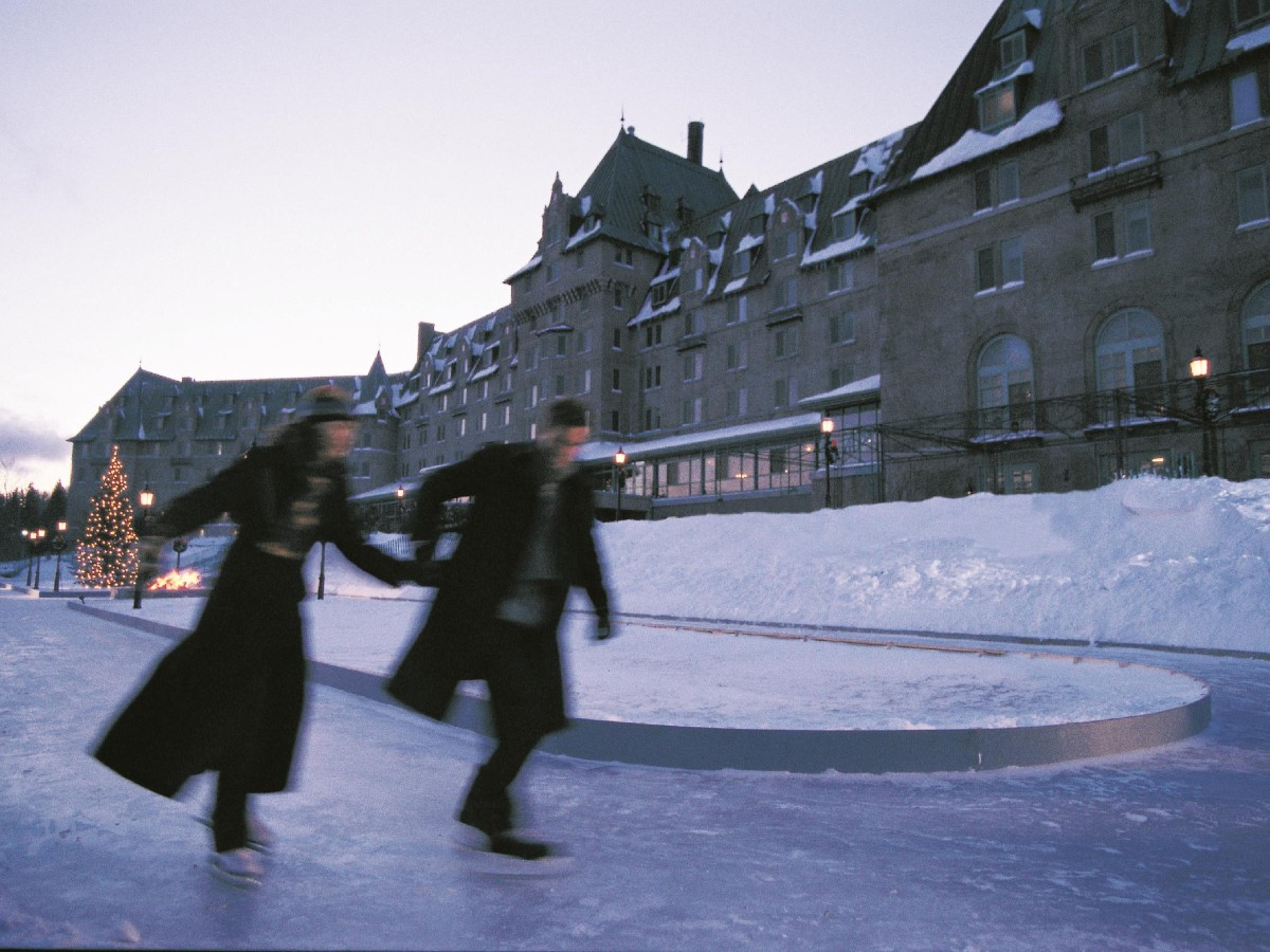 Tourisme Charlevoix - Fairmont Le Manoir Richelieu - Marché d'hiver