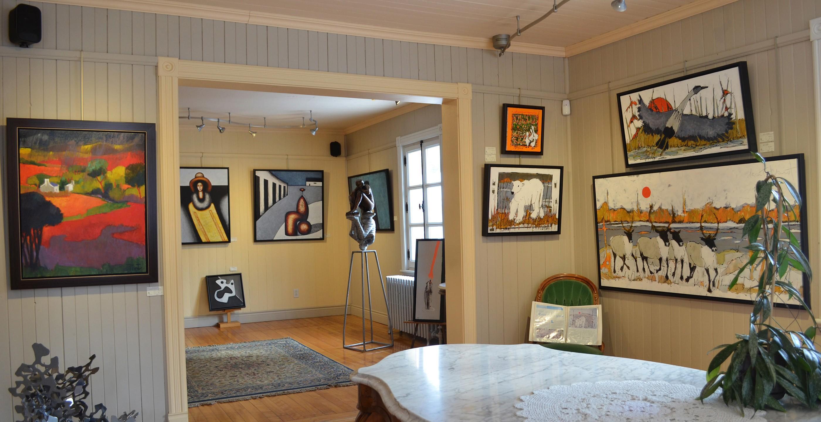 Galerie d'art Au P'tit Bonheur